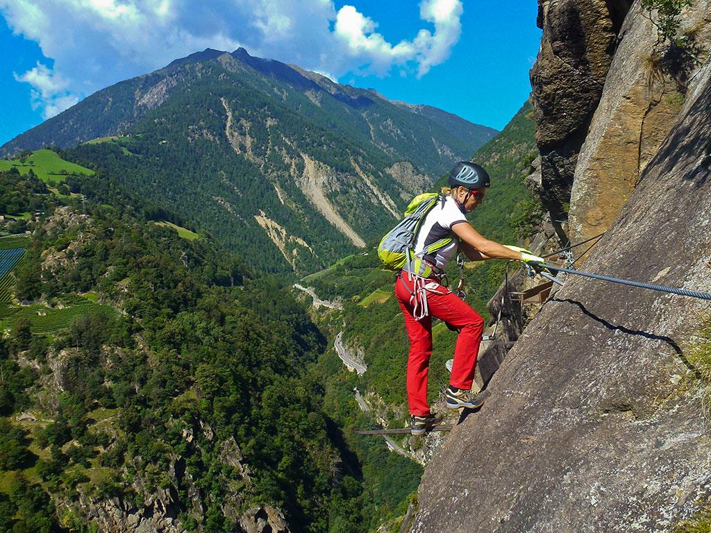 Vinschgau-Klettern